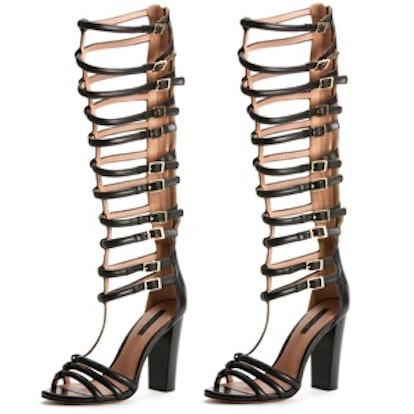 Mason Gladiator Sandals in Black