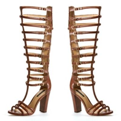 Mason Gladiator Sandals in Caramel