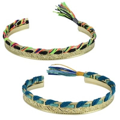 Aztec Silk Cuff