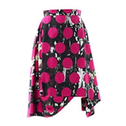 Aztec-Print Full Skirt
