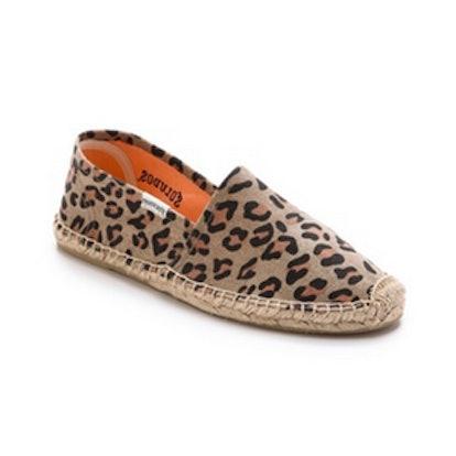 Leopard Print Espadrilles