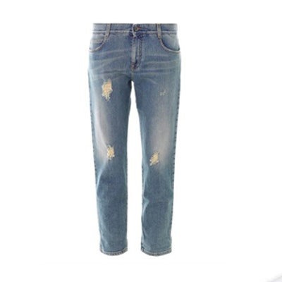 Tomboy Distressed Boyfriend Jeans