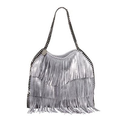 Metallic Fringe Shoulder Bag