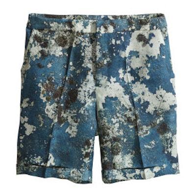 Silk-Blend Shorts