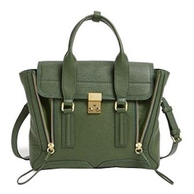 Medium Pashli Leather Satchel