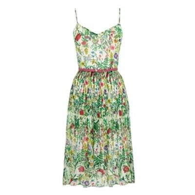 Botanical Cami Midi Dress