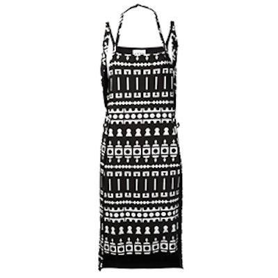 Printed Apron Dress
