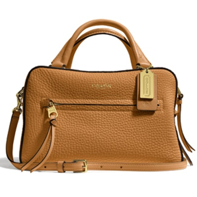 Bleecker Small Cobblestone Satchel In Pebbled Leather