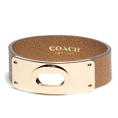 Small Open Lock Boarskin Bracelet