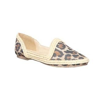 Leopard Slipper Espadrille