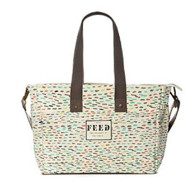 FEED + Oh Joy! Diaper Bag