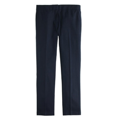 Navy Cropped Pant