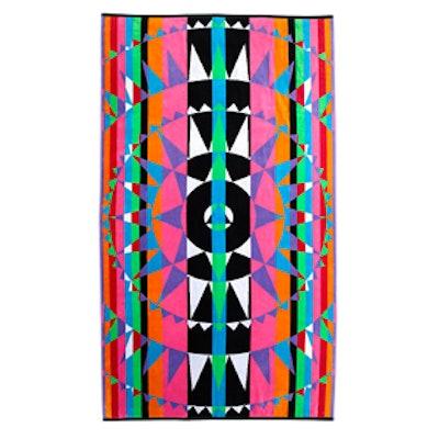 Multi-Color Beach Towel