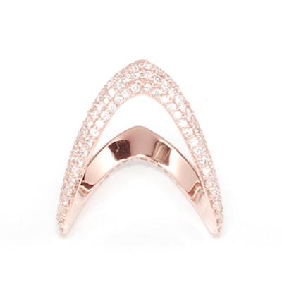 Bermuda Pave Diamond Ring