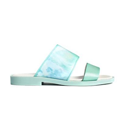 Mint Slide Sandal