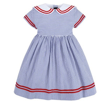 Baby Seersucker Dress