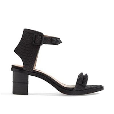 Colbie Studded Snakeskin Sandal