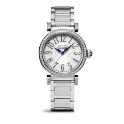 Madison Stainless Steel Bracelet Watch