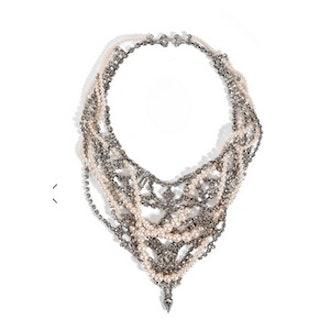 Rhinestone Chain Necklace