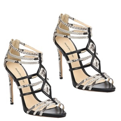 Strappy Aztec Cage Sandals