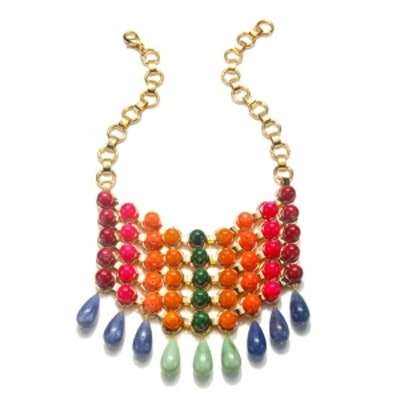 Gradient Bib Necklace