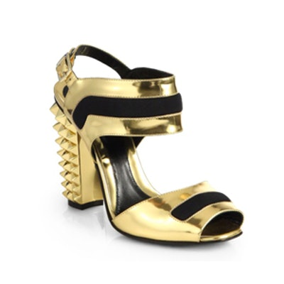 Polifonia Metallic Sandals