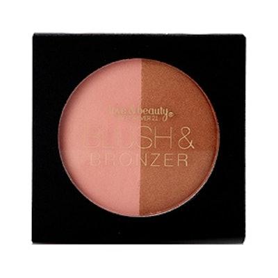 Blush & Bronzer Compact