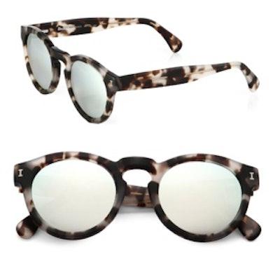 Leonard Mirrored Sunglasses
