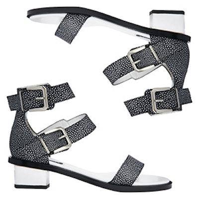 Heeled Stingray Sandals