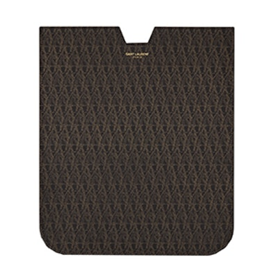 IPad Sleeve In Canvas And Leather
