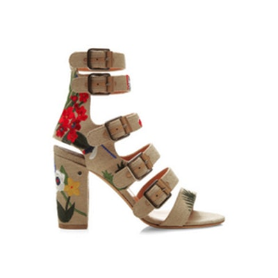 Dana Floral Embroidered Sandals