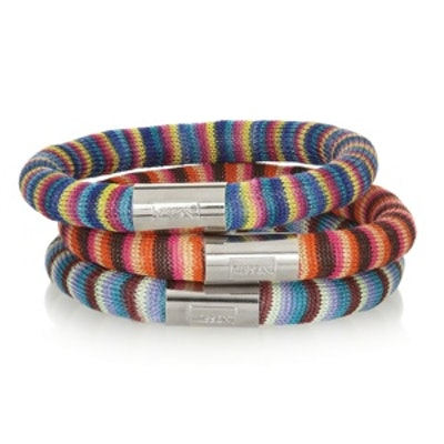 + V&A Set of Three Woven Bracelets