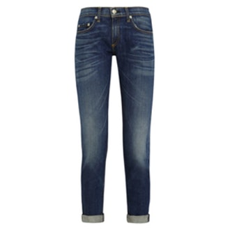 The Dre Cropped Slim Boyfriend Jeans