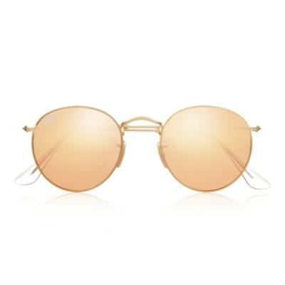 Metal Mirrored Sunglasses