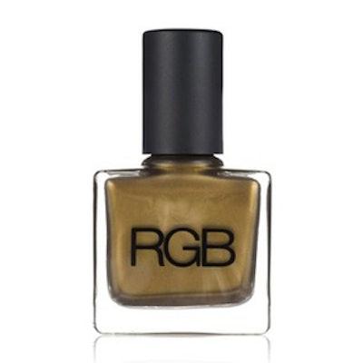 Nail Polish in Green Gold