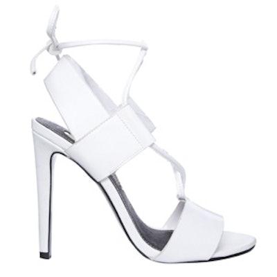 Strappy Tie-Up Sandals