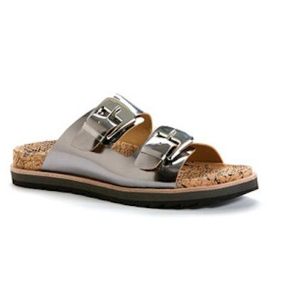 Fawn Metallic Sandal