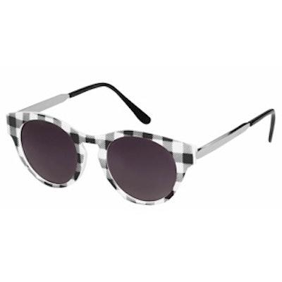 Warren Check Sunglasses