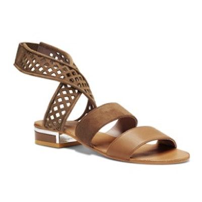 Metal Heel Sandals