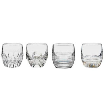 Set Of 4 Crystal Glasses