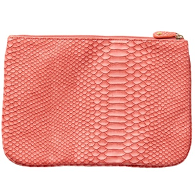 Everglades Embossed Pouch