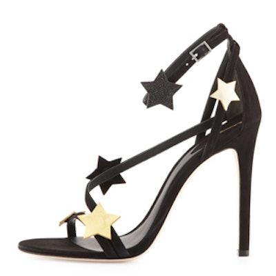 Licata Suede Star Sandal