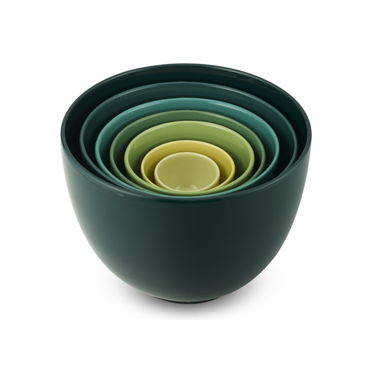 Set Of 7 Ceramic Mixing Bowls