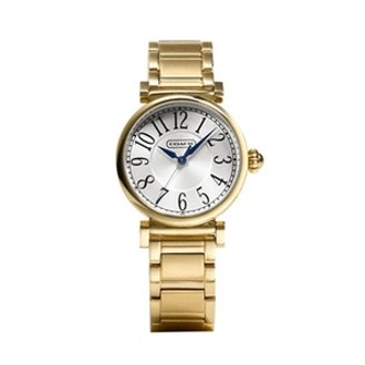Madison Gold Plated Watch