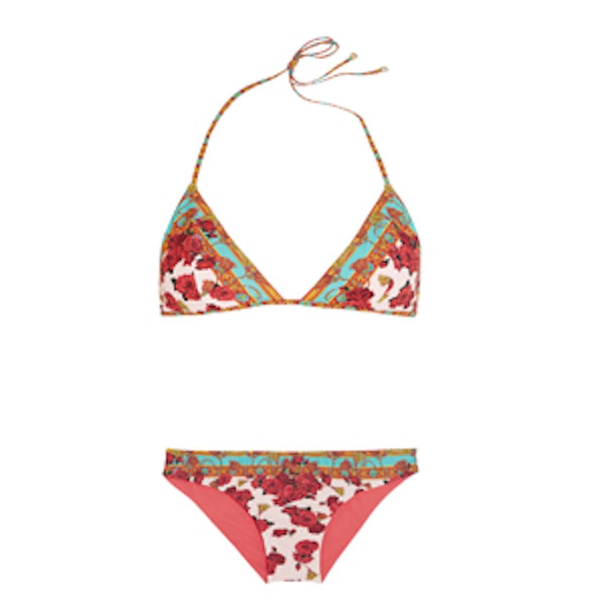Floral Printed Bikini