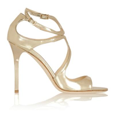 Lang Metallic Heels