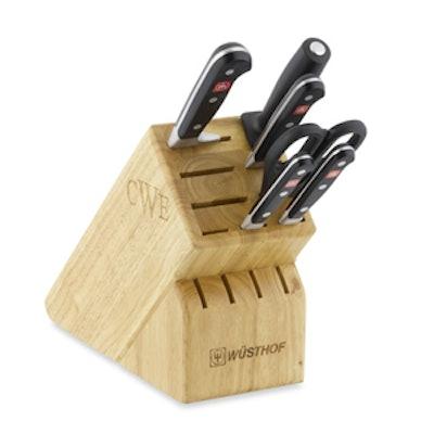 7-Piece Monogrammed Knife Set
