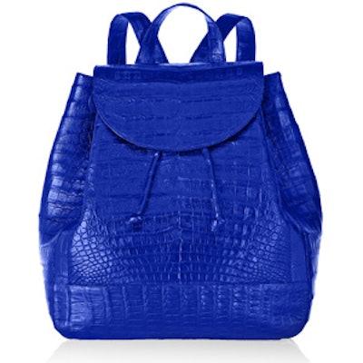 Glossed-Crocodile Backpack