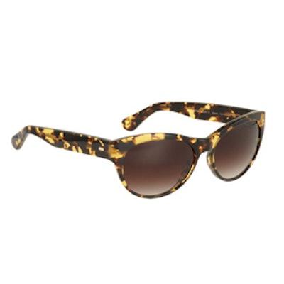Mande 55 Cat Eye Sunglasses