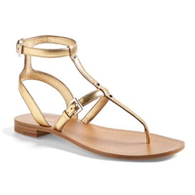 Metallic Gladiator Sandal